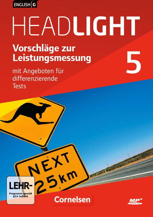 English G Headlight - Vorschläge zur Leistungsmessung - Mit Angeboten für differenzierende Tests - CD-ROM und CD-Extra - Band 5: 9. Schuljahr