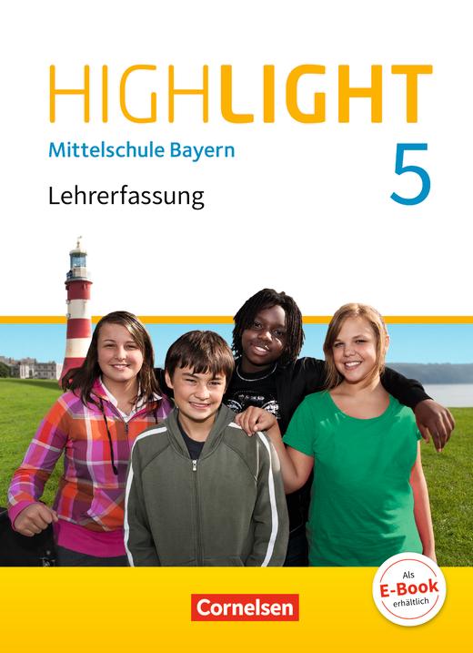 Highlight - Schülerbuch - Lehrerfassung - 5. Jahrgangsstufe