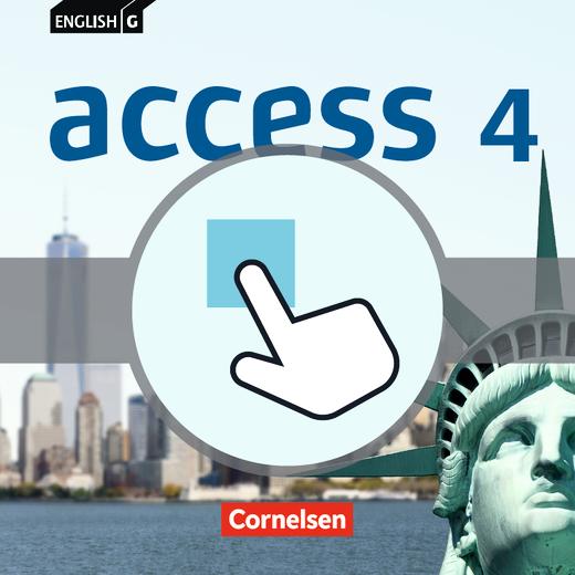 English G Access - Interaktive Übungen als Ergänzung zum Workbook - Band 4: 8. Schuljahr