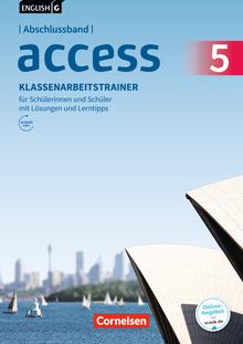 English G Access - Klassenarbeitstrainer mit Audios und Lösungen online - Abschlussband 5: 9. Schuljahr