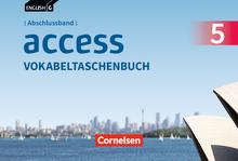 English G Access - Vokabeltaschenbuch - Abschlussband 5: 9. Schuljahr