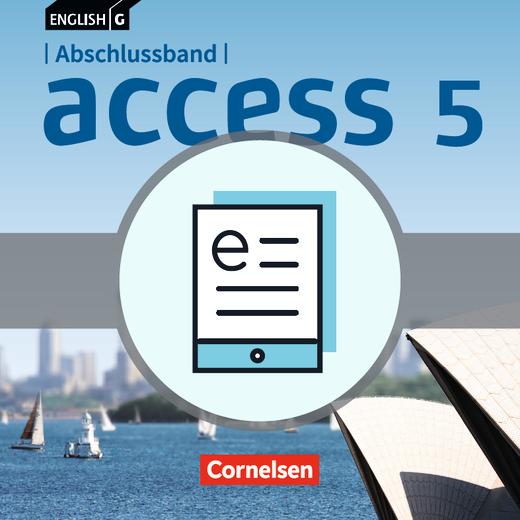 English G Access - Schülerbuch - Lehrerfassung als E-Book - Abschlussband 5: 9. Schuljahr