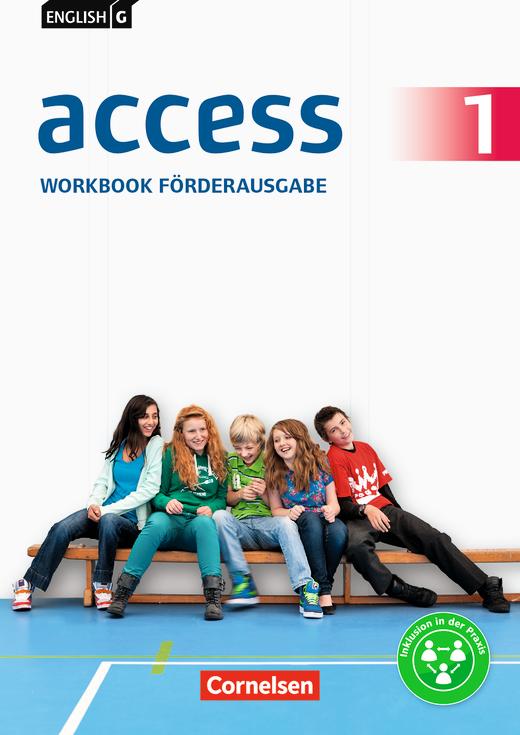 English G Access - Workbook - Förderausgabe - Arbeitsheft - Band 1: 5. Schuljahr