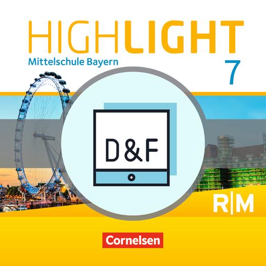 Highlight - Diagnose und Fördern online - 7. Jahrgangsstufe