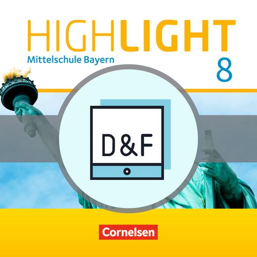 Highlight - Diagnose und Fördern online - 8. Jahrgangsstufe