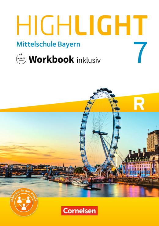 Highlight - Workbook inklusiv mit Audios online - 7. Jahrgangsstufe