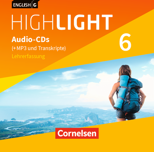 English G Highlight - Audio-CDs (Vollfassung) - Band 6: 10. Schuljahr