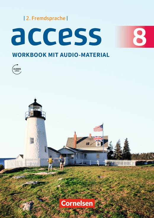 Access - Workbook mit Audios online - Band 3