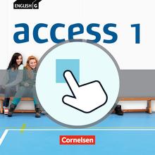 English G Access - Interaktive Übungen als Ergänzung zum Workbook - Band 1: 5. Schuljahr