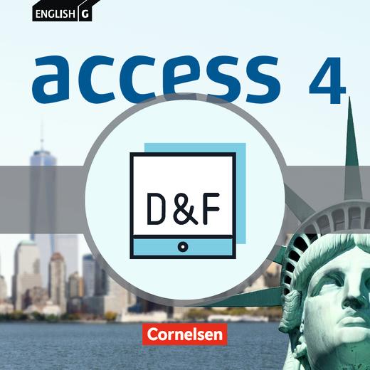 English G Access - Diagnose und Fördern online - Band 4: 8. Schuljahr