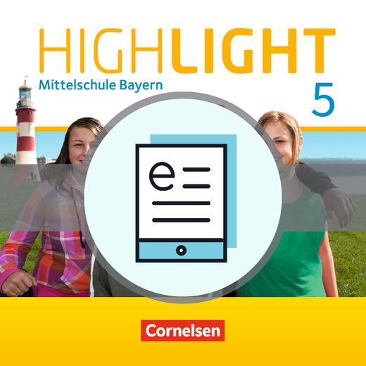 Highlight - Schülerbuch - Lehrerfassung als E-Book - 5. Jahrgangsstufe