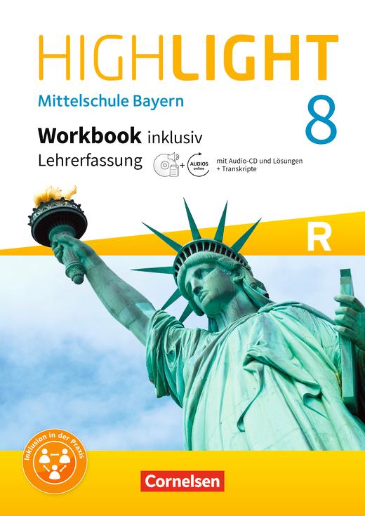 Highlight - Workbook inklusiv mit CD-Extra und Audios online - Lehrerfassung - 8. Jahrgangsstufe