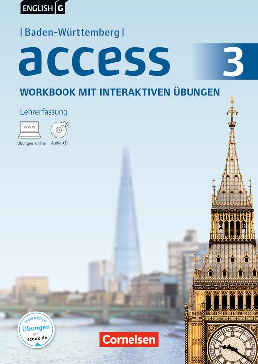 English G Access - Workbook mit interaktiven Übungen auf scook.de - Lehrerfassung - Band 3: 7. Schuljahr