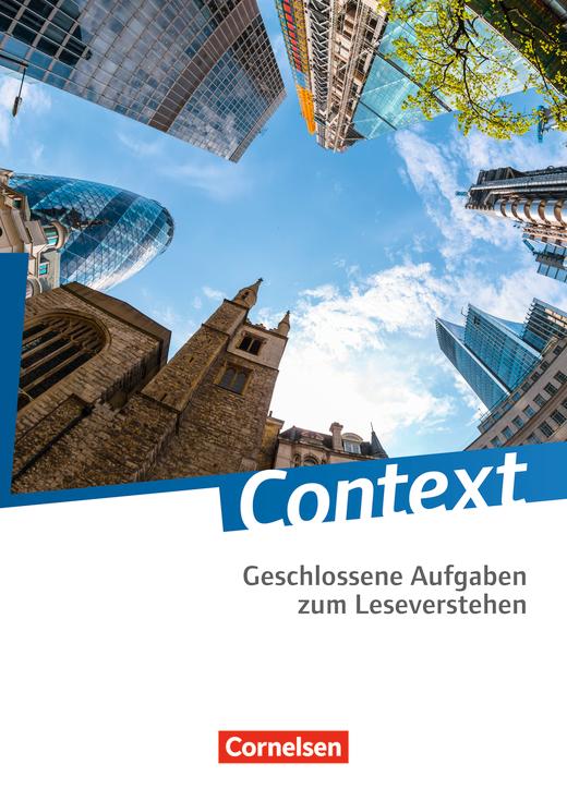 Context - Geschlossene Aufgaben zum Leseverstehen - Kopiervorlagen mit Lösungen