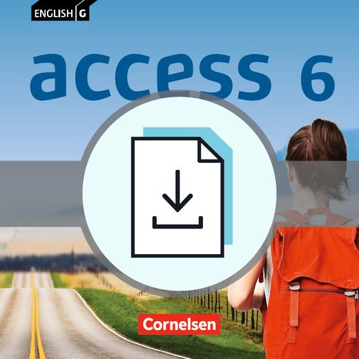 English G Access - Vocabulary Action Sheets - Kopiervorlagen als Download - Band 6: 10. Schuljahr