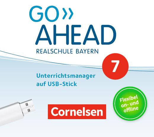 Go Ahead - Unterrichtsmanager Plus auf USB-Stick - 7. Jahrgangsstufe