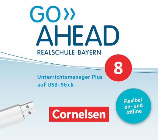 Go Ahead - Unterrichtsmanager Plus auf USB-Stick - 8. Jahrgangsstufe