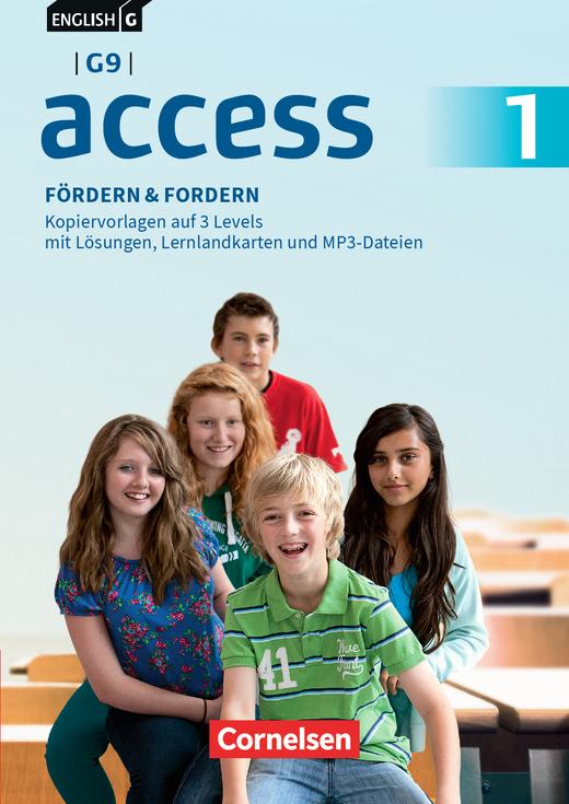 English G Access - Fördern & Fordern - Fördermaterialien auf CD-Extra - Band 1: 5. Schuljahr