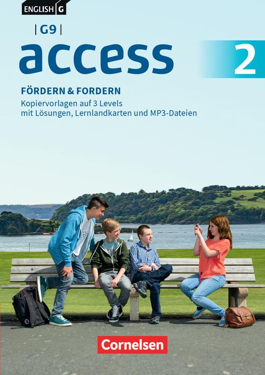 English G Access - Fördern & Fordern - Fördermaterialien auf CD-Extra - Band 2: 6. Schuljahr