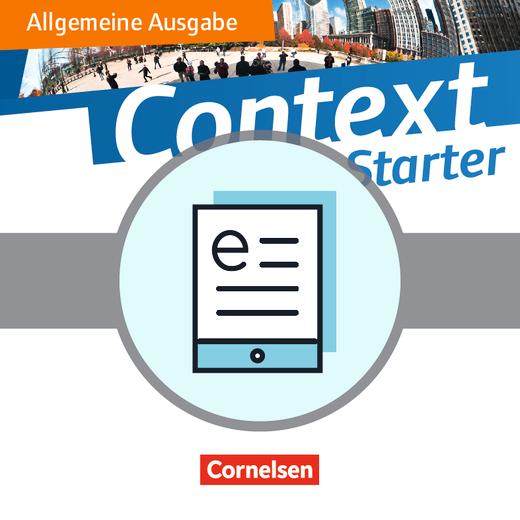 Context Starter - Schülerbuch als E-Book