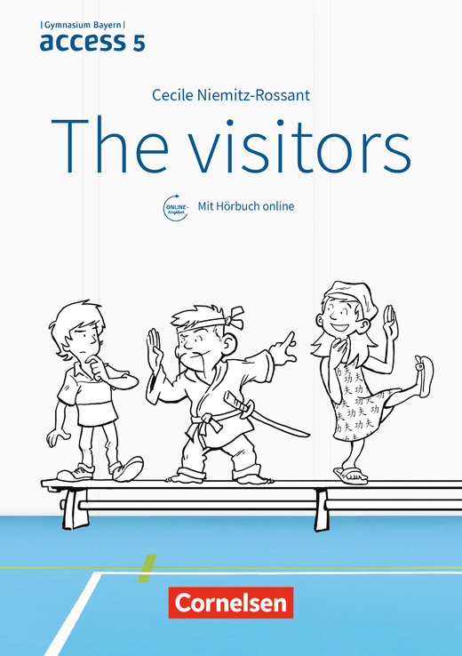 Access - The visitors - Lektüre mit Audios online zum Hörbuch - 5. Jahrgangsstufe