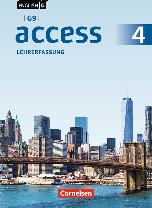 English G Access - Schülerbuch - Lehrerfassung - Band 4: 8. Schuljahr