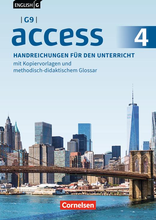 English G Access - Handreichungen für den Unterricht - Band 4: 8. Schuljahr