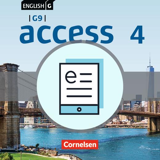 English G Access - Schülerbuch als E-Book - Band 4: 8. Schuljahr