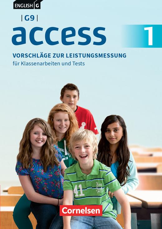 English G Access - Vorschläge zur Leistungsmessung - Für Klassenarbeiten und Tests - CD-Extra - Band 1: 5. Schuljahr