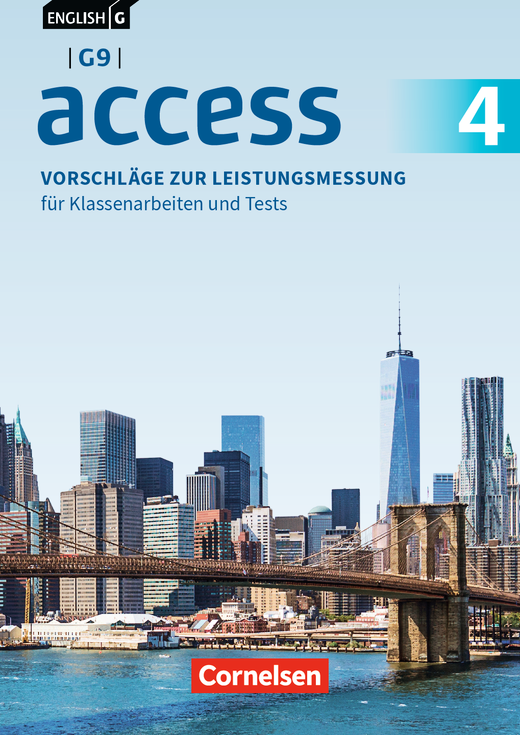 English G Access - Vorschläge zur Leistungsmessung - Für Klassenarbeiten und Tests - CD-Extra - Band 4: 8. Schuljahr