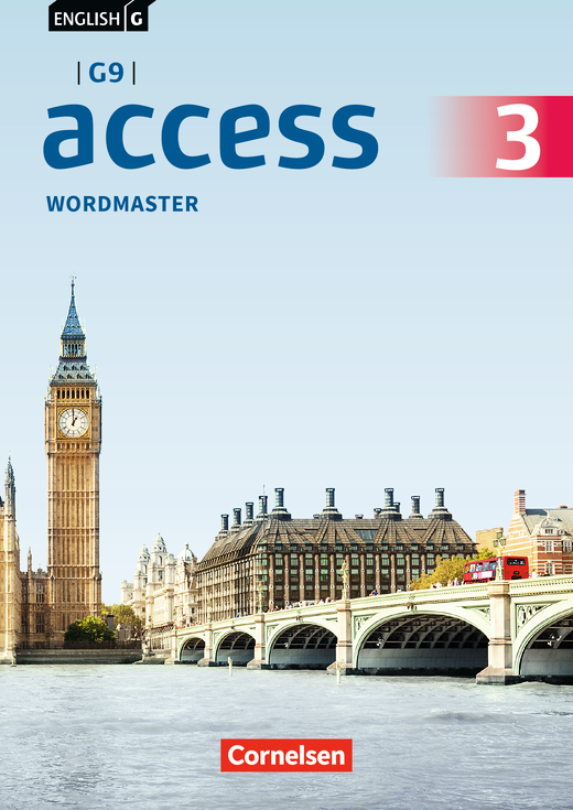 English G Access - Wordmaster mit Lösungen - Band 3: 7. Schuljahr