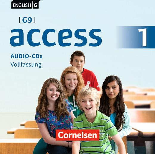 English G Access - Audio-CDs - Band 1: 5. Schuljahr