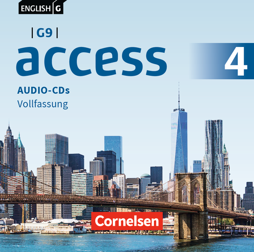 English G Access - Audio-CDs - Band 4: 8. Schuljahr