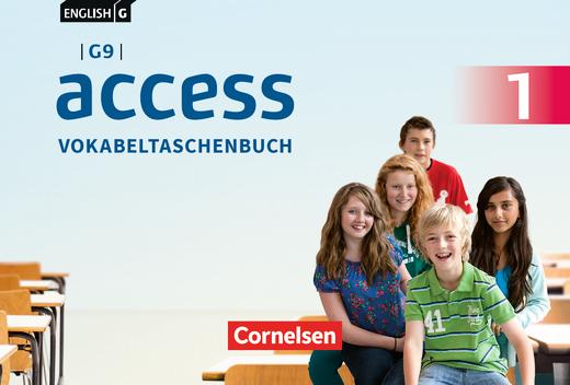 English G Access - Vokabeltaschenbuch - Band 1: 5. Schuljahr