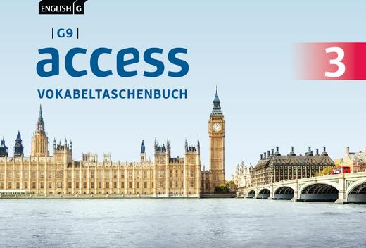 English G Access - Vokabeltaschenbuch - Band 3: 7. Schuljahr