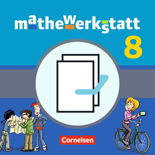 Mathewerkstatt - Schülerbuch mit Materialblock - 8. Schuljahr