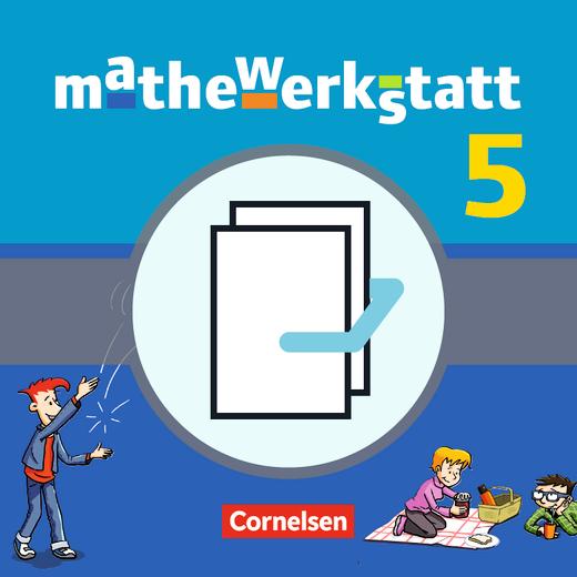Mathewerkstatt - Schülerbuch mit Materialblock - Band 5