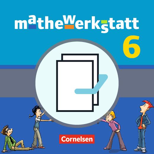 Mathewerkstatt - Schülerbuch mit Materialblock - Band 6