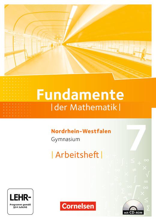 Fundamente der Mathematik - Arbeitsheft mit Lösungen und CD-ROM - 7. Schuljahr