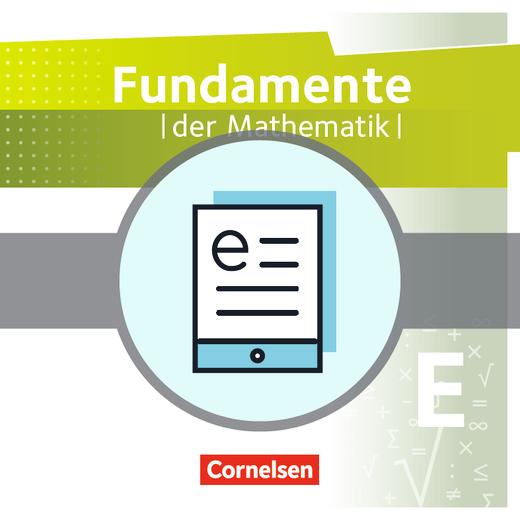 Fundamente der Mathematik - Schülerbuch als E-Book - Einführungsphase