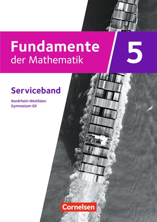 Fundamente der Mathematik - Serviceband - 5. Schuljahr