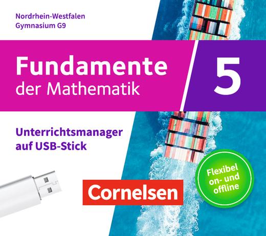 Fundamente der Mathematik - Unterrichtsmanager Plus auf USB-Stick - 5. Schuljahr