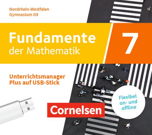 Fundamente der Mathematik - Unterrichtsmanager Plus auf USB-Stick - 7. Schuljahr