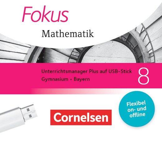 Fokus Mathematik - Unterrichtsmanager Plus auf USB-Stick - 8. Jahrgangsstufe