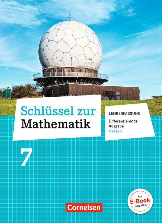 Schlüssel zur Mathematik - Schülerbuch - Lehrerfassung - 7. Schuljahr