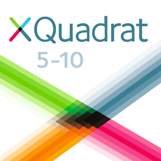 XQuadrat - Mathe Trainer App - 5. bis 10. Schuljahr