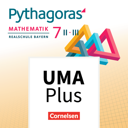 Pythagoras - Unterrichtsmanager Plus online - 7. Jahrgangsstufe (WPF II/III)