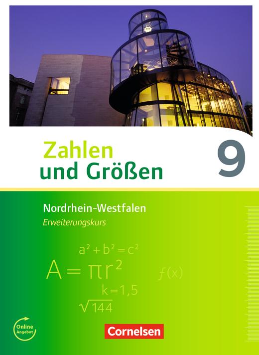 Zahlen und Größen - Schülerbuch - 9. Schuljahr - Erweiterungskurs