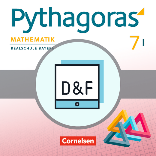 Pythagoras - Diagnose und Fördern online - 7. Jahrgangsstufe (WPF I)