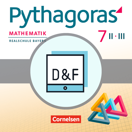 Pythagoras - Diagnose und Fördern online - 7. Jahrgangsstufe (WPF II/III)